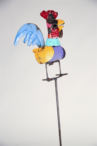 Rooster On A Stick (Garden Stake), Rustic Home Decor Provided By Mexican  Imports