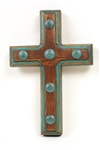 Santa Fe Clavos Cross, rustic home decor provided by Mexican Imports