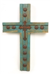 Tierra Santa wood handmade Cross, rustic home decor provided by Mexican Imports
