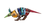 Amazing Armadillo-Metal Handmade rustic home decor provided by Mexican Imports