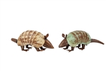 Andy the farmhouse Armadillo-Metal Handmade rustic home decor provided by Mexican Imports
