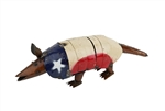 Andy the Texas Armadillo-Metal Handmade rustic home decor provided by Mexican Imports