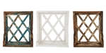 Cambridge Farmhouse wall Window with shelf-Farmhouse and rustic home decor provided by Mexican Imports