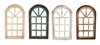Farmhouse Architectural wall windows and rustic home decor provided by Mexican Imports