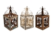 Farmhouse Iron & Wood Lantern and rustic, farmhouse home decor provided by Mexican Imports
