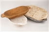 Rustic Wooden Deep Dough Bowl with Handles,newborn prop, and  rustic home decor provided by Mexican Imports