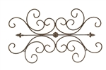 Iron Finial door topper and rustic home decor provided by Mexican Imports