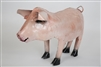 pink standing pig rustic home decor provided by Mexican Imports