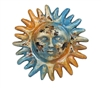 Old World  Clay-Sun-Hand-Painted-Garden, rustic home decor provided by Mexican Imports