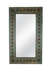 Puebla Vanity Handmade Wall Accent Mirror - Rustic Mirror, rustic home decor provided by Mexican Imports