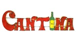 Colorful recycled metal cantina Sign like this rustic home decor provided by Mexican Imports