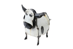 Small cow, rustic home decor provided by Mexican Imports
