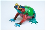 Small frog, rustic home decor provided by Mexican Imports