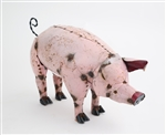 pink Pig, rustic home decor provided by Mexican Imports