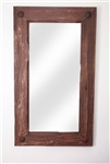 Old Door - Rustic Mirror, rustic home decor provided by Mexican Imports