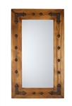 Rio Grande - Rustic Mirror, rustic home decor provided by Mexican Imports