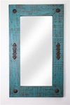 Santa Fe - Rustic Mirror, rustic home decor provided by Mexican Imports