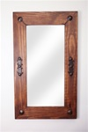 Vaquero - Rustic Mirror, rustic home decor provided by Mexican Imports