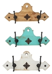 Rustic Durango Hat Rack-Coat Rack, rustic home decor provided by Mexican Imports