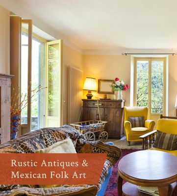 Mexican Folk Art Antiques And Rustic Décor